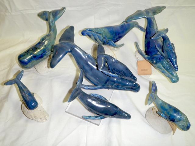 ハワイのクジラ陶器PCシリ-ズ(米国ハワイ)
